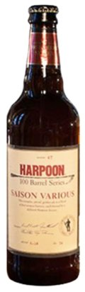 Harpoon 100 Barrel Series #47 - Saison Various