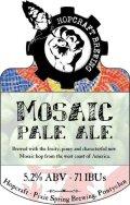 Hopcraft Mosaic Pale Ale