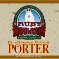 Ruby Mountain Bristlecone Brown Porter - Porter