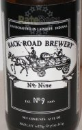 Back Road No. 9 Barleywine