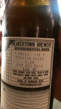 Beavertown Uncle Joe Russian Kvass
