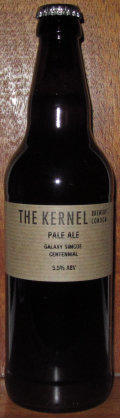 The Kernel Pale Ale Galaxy Simcoe Centennial - American Pale Ale