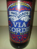 Two Roads Via Cordis Abbey Blonde - Belgian Ale