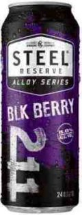Steel Reserve Alloy Series Blk Berry 211 - Malt Liquor