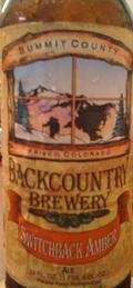 Backcountry Switchback Amber