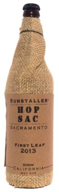 Ruhstaller Hop Sac First Leaf California Wet Hop Ale (2013)