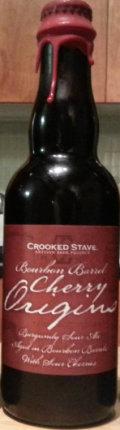 Crooked Stave Bourbon Barrel Cherry Origins