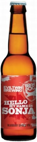 BrewDog / Evil Twin Hello My Name is Sonja