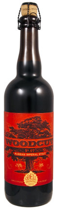 Odell Woodcut No. 07 Oak Aged Russian Imperial Stout