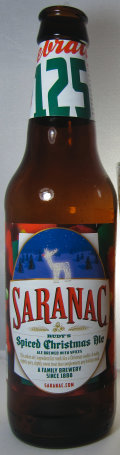 Saranac Rudy�s Spiced Christmas Ale