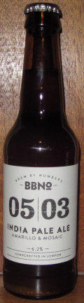 Brew By Numbers 05/03 India Pale Ale - Amarillo & Mosaic