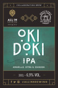 All In Brewing / De Molen Okidoki IPA