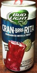Bud Light Lime Cran-Brrr-Rita - Fruit Beer