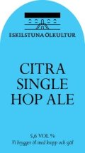 Eskilstuna Citra Single Hop Ale