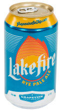 Grapevine Lakefire Rye Pale Ale