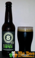 Eight Degrees Zeus Black IPA