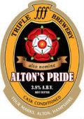 Triple fff Altons Pride - Bitter