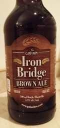 Gahan Iron Bridge Brown Ale