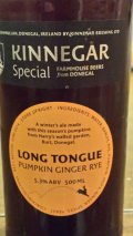 Kinnegar Long Tongue Pumpkin Ginger Rye