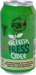 Australian Brewery Fresh Press Cider