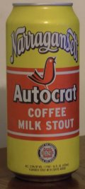 Narragansett Autocrat Coffee Milk Stout - Sweet Stout