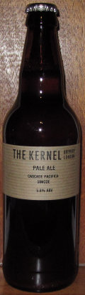 The Kernel Pale Ale Cascade Pacifica Simcoe
