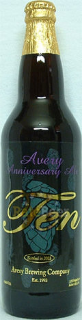 Avery Anniversary Ten - American Strong Ale