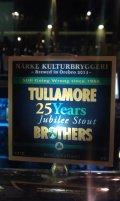 N�rke Tullamore Brothers 25 Years Jubilee Stout
