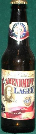 Wasatch 1st Amendment Lager