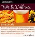 Sainsbury�s Blonde Ale