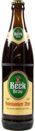 Beck Br�u Jahrhundert Bier Dunkel