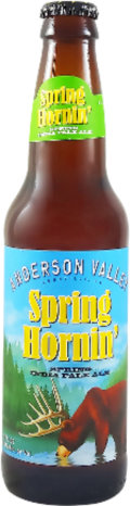 Anderson Valley Bahl Hornin� Spring India Pale Ale