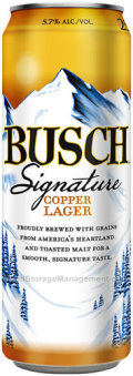 Busch Signature Copper Lager - Amber Lager/Vienna