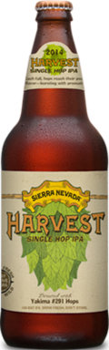 Sierra Nevada Harvest Single Hop IPA Yakima #291