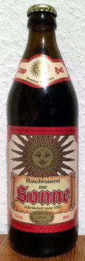 Brauerei zur Sonne Urtyp Hell Lagerbier