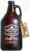 Lake of the Woods Sasquatch Black Lager