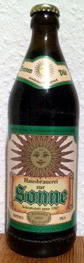 Brauerei zur Sonne Sonnen Pils
