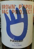 Brown Paper Bag Project Pleasant Porter
