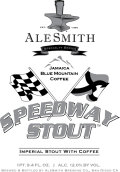 AleSmith Speedway Stout - Jamaica Blue Mountain Coffee - Imperial Stout