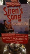 Wychwood / Cigar City Siren�s Song Session IPA