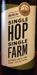 Two Beers Single Hop Single Farm - Citra