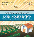 Golden Coast Farm House Batch Mead