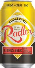 Boulevard Tasting Room Series Ginger-Lemon Radler