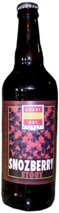 Great South Bay Snozberry Stout