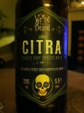 Weird Beard Single Hop Series No 4: Citra Pilsner