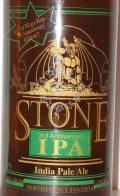 Stone 3rd Anniversary IPA - India Pale Ale (IPA)