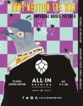 All In Brewing Don�t Mention The War Imperial Noble Pilsner