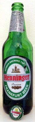 Henninger Frankfurt Beer 3.75% (Jordan) - Pale Lager
