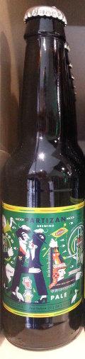 Partizan Pale Ale Columbus Pacific Jade Centennial