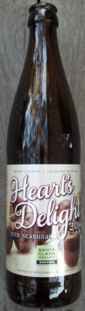 Santa Clara Valley Brewing Heart�s Delight Summer Ale